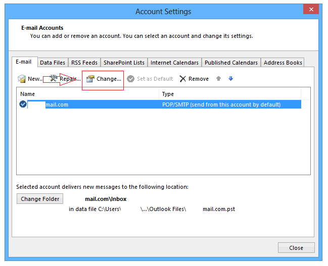 how to stop outlook from checking email accounts