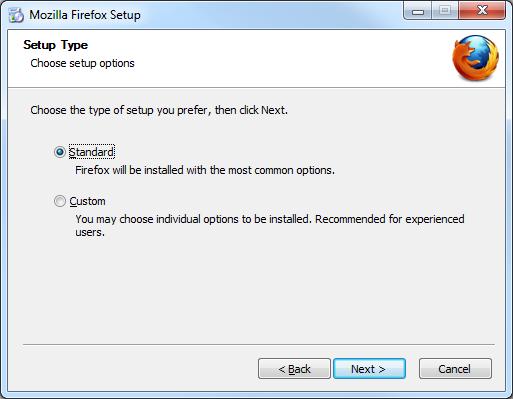 Install Firefox Windows