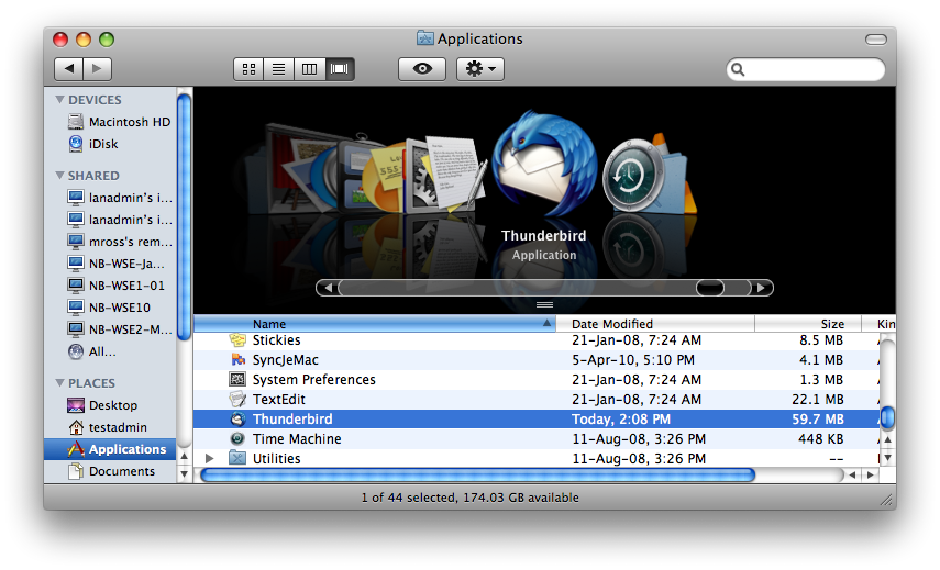 how to move the icon bar on a mac